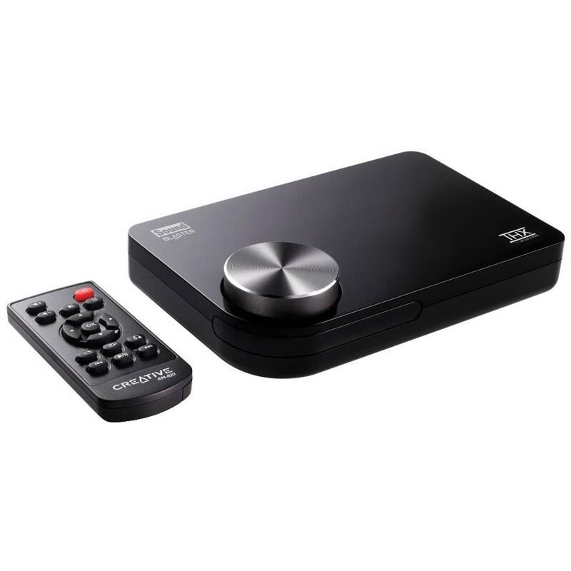 Zvuková karta Creative Labs Sound Blaster X-Fi Surround 5.1 PRO, USB (70SB109500008)