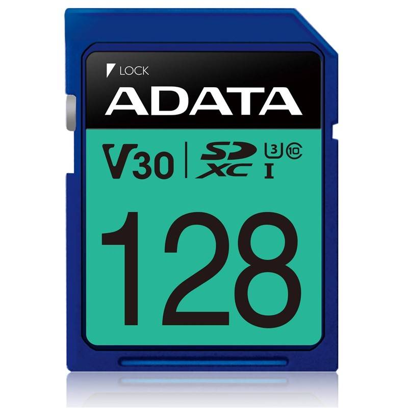 Paměťová karta ADATA Premier Pro SDXC 128GB UHS-I U3 (95R/60W) (ASDX128GUI3V30S-R)