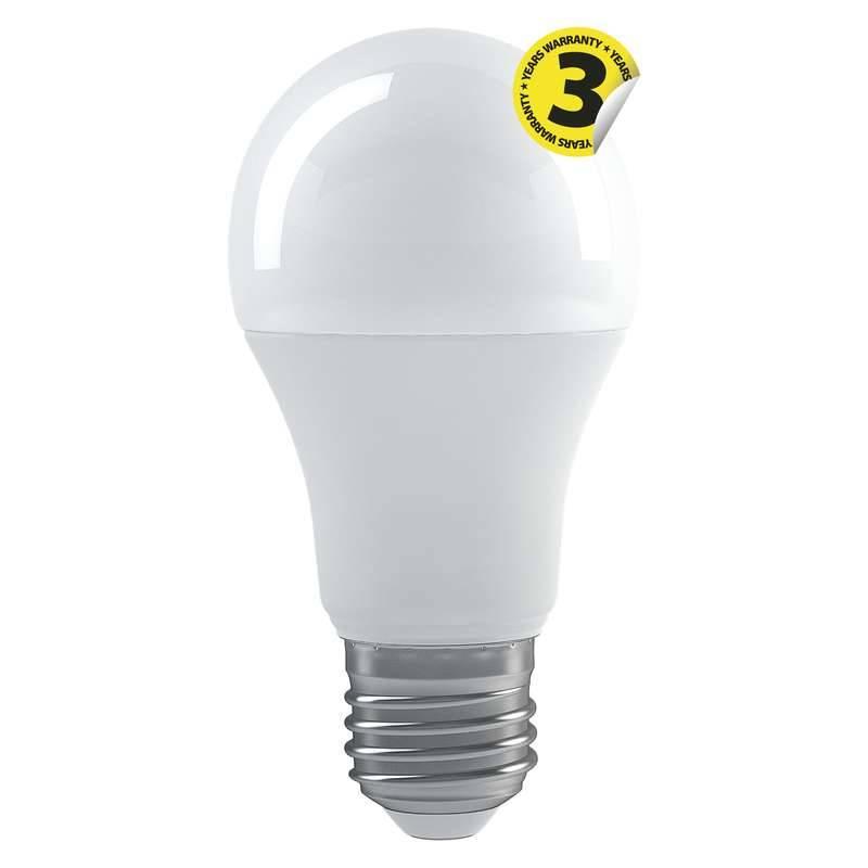 LED žiarovka EMOS klasik, 11,5W, E27, teplá bílá, krokově stmívatelná (1525653206)