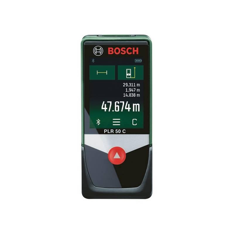 Laserový dálkomer Bosch PLR50 C + Doprava zadarmo