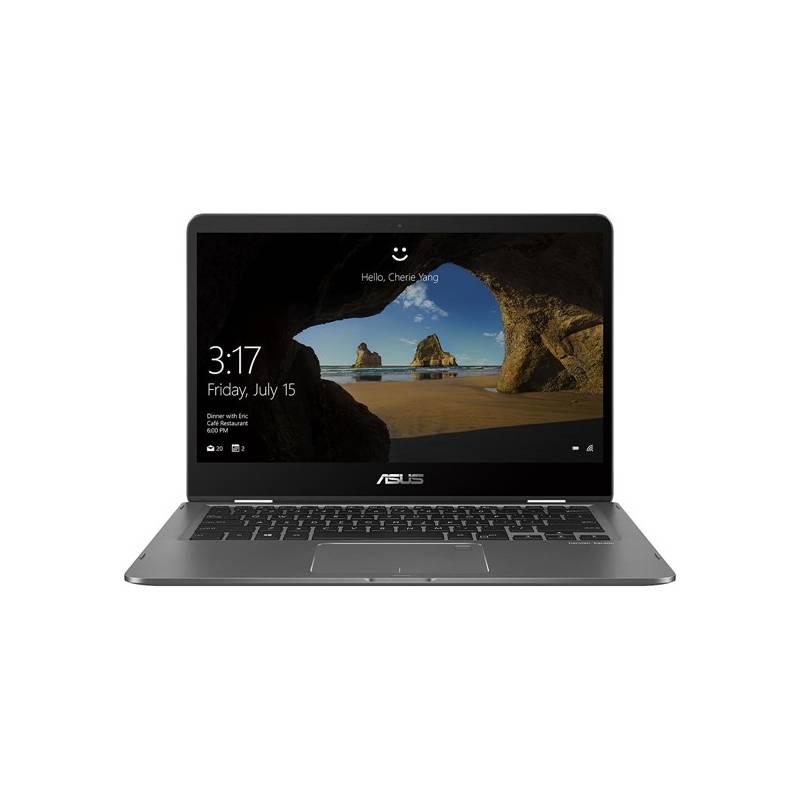 Notebook Asus Zenbook Flip 14 UX461UA (UX461UA-E1010T) sivý Software F-Secure SAFE, 3 zařízení / 6 měsíců (zdarma)