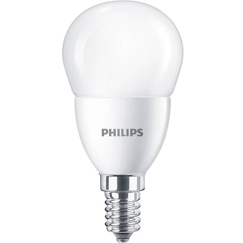 LED žiarovka Philips klasik, 7W, E14, teplá bílá (8719514309647)