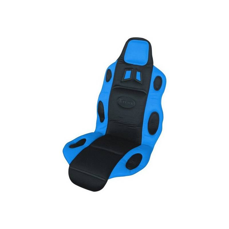 Poťah sedadiel Compass RACE černo-modrý