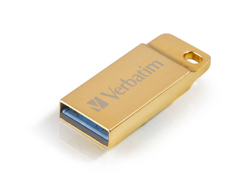 USB flash disk Verbatim Store 'n' Go Metal Executive 32GB (99105) zlatý