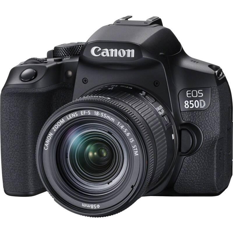Digitálny fotoaparát Canon EOS 850D + 18-55 IS STM (3925C002) čierny + Doprava zadarmo