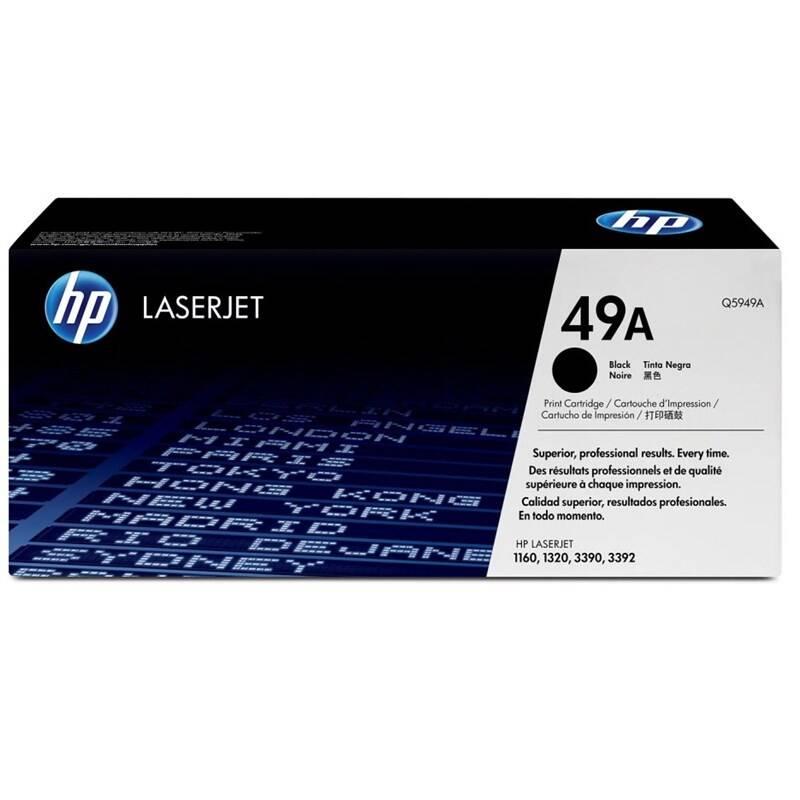 Toner HP 49A, 2500 stran (Q5949A) čierny + Doprava zadarmo