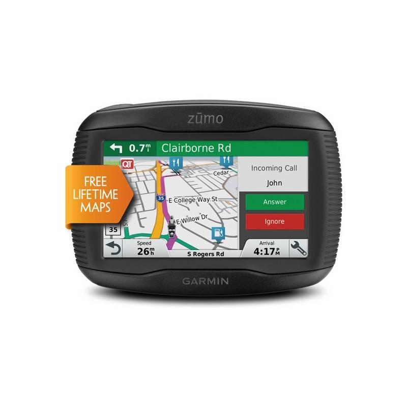 Navigačný systém GPS Garmin zumo 345 Lifetime Europe20 čierna + Doprava zadarmo