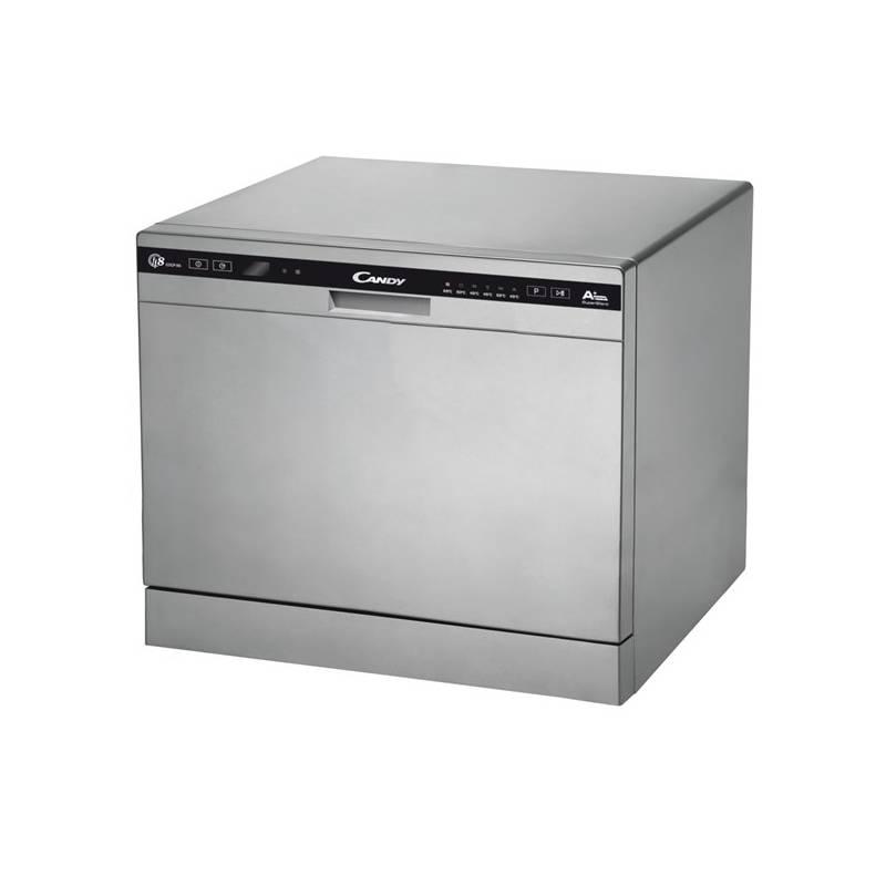 Umývačka riadu Candy CDCP 8/E-S strieborná