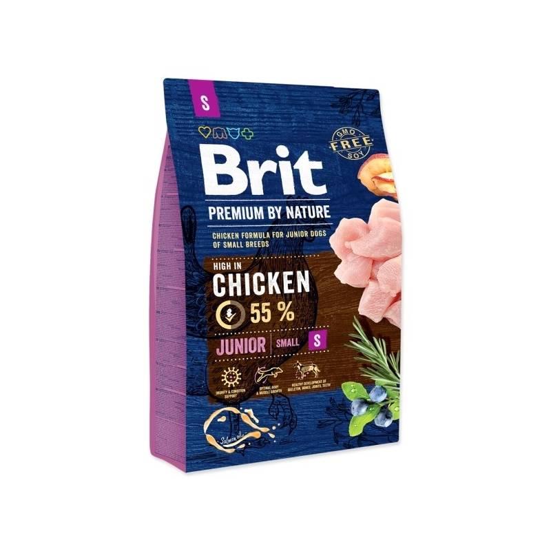 Granule Brit Premium Dog by Nature Junior S 3 kg