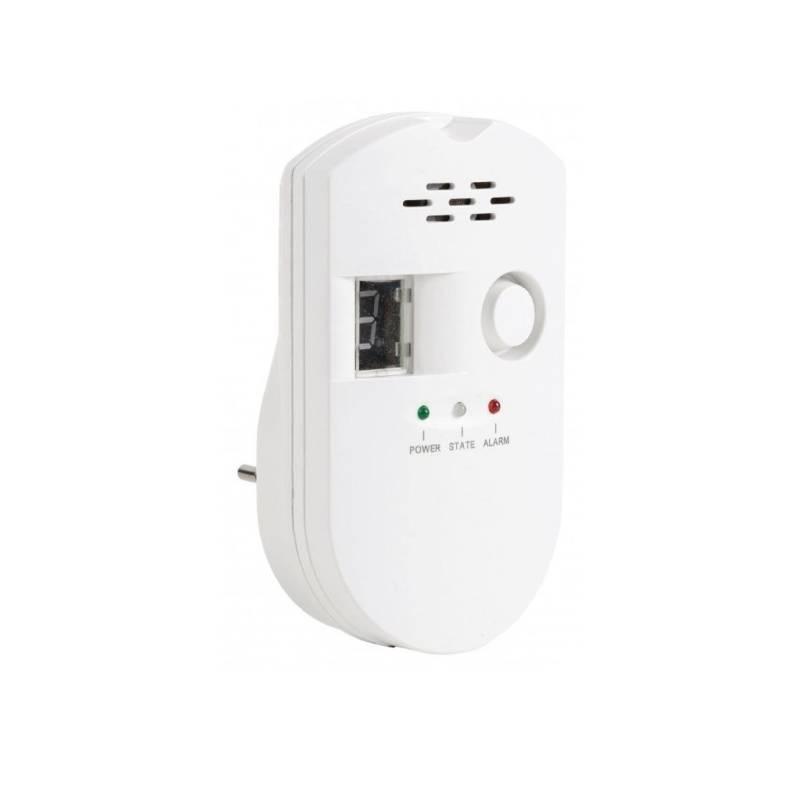 Detektor plynů König SAS-GD100 (SAS-GD100) biely