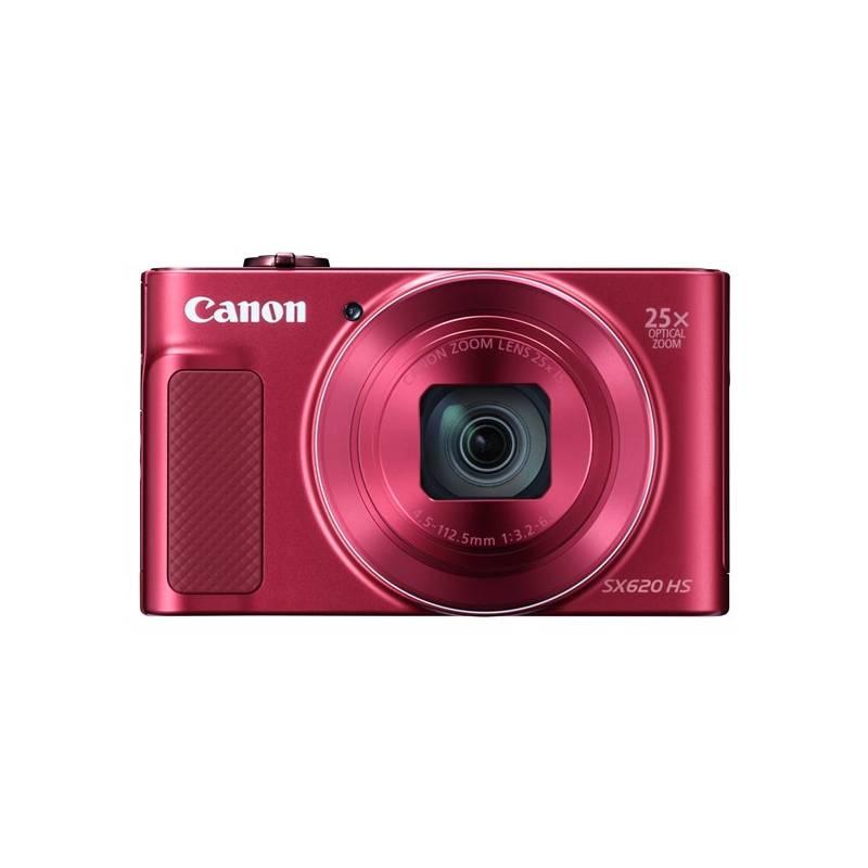 Digitálny fotoaparát Canon PowerShot SX620 HS (1073C002) červený Pouzdro foto Canon DCC-1500 (zdarma) + Doprava zadarmo