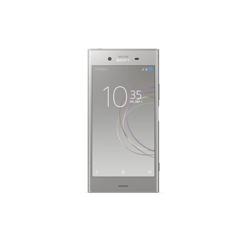 Mobilný telefón Sony Xperia XZ1 Dual SIM (G8342) (1310-7158) strieborný Software F-Secure SAFE, 3 zařízení / 6 měsíců (zdarma)Sluchátka Sony MDR-XB70BT (zdarma)