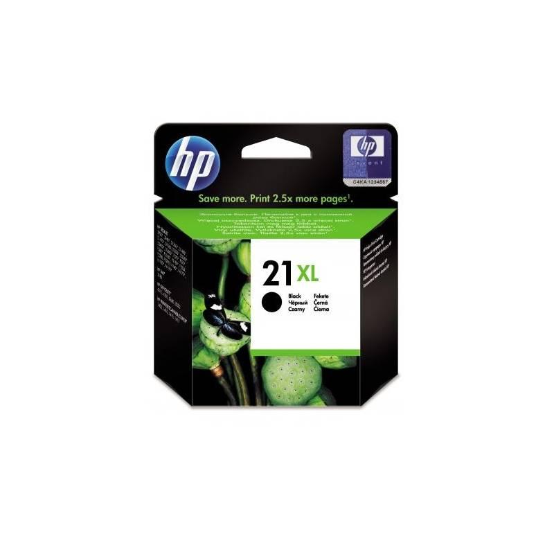 Cartridge HP No. 21XL, 475 stran - originální (C9351CE) čierna