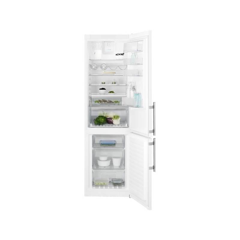 Kombinácia chladničky s mrazničkou Electrolux EN3854NOW biela + Doprava zadarmo