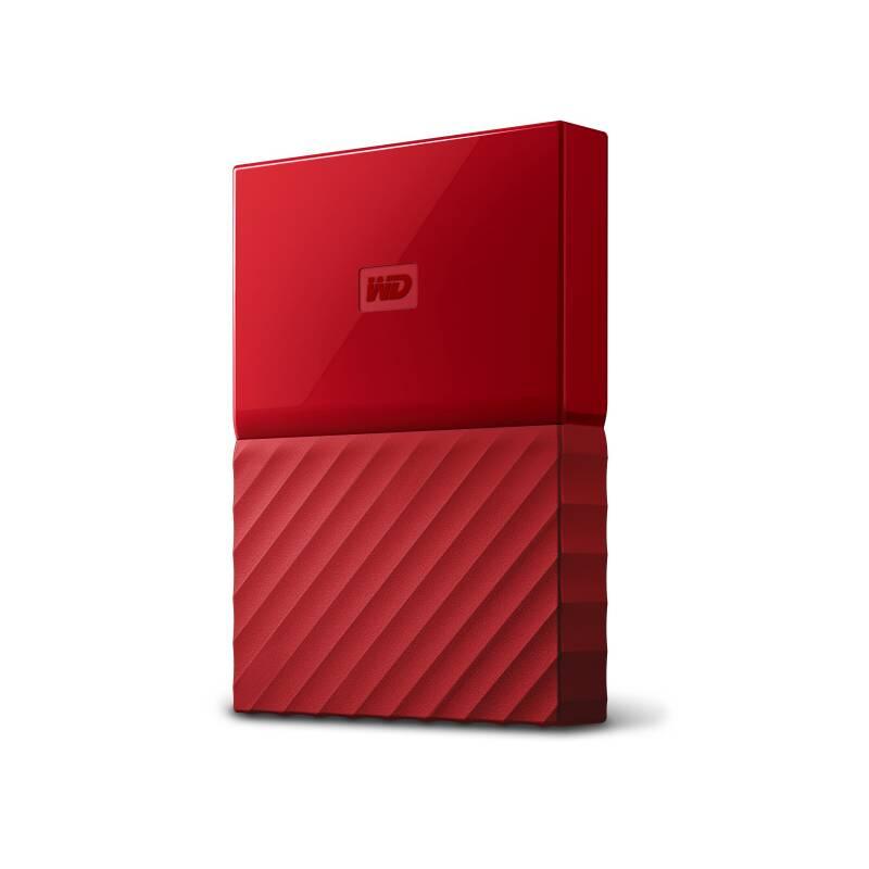 "Externí pevný disk 2,5"" Western Digital My Passport 1TB (WDBYNN0010BRD-WESN) červený"