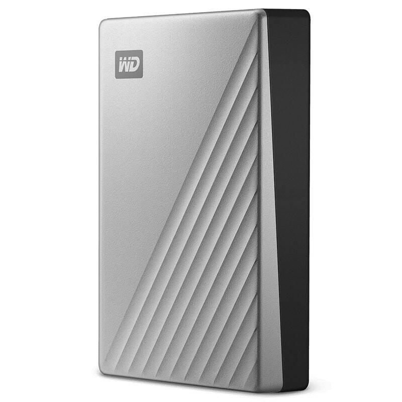 Externý pevný disk Western Digital My Passport Ultra pro Mac, 4TB (WDBPMV0040BSL-WESN) strieborný + Doprava zadarmo
