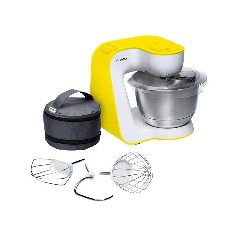 Kuchynský robot Bosch StartLine MUM54Y00 biely/žltý + Doprava zadarmo
