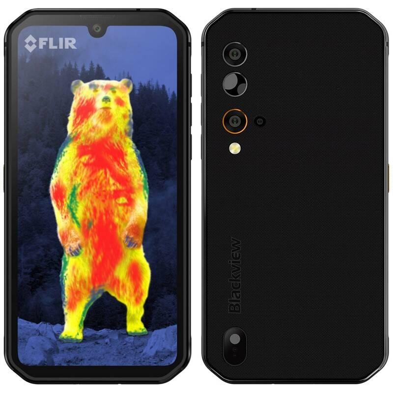 Mobilný telefón iGET BLACKVIEW GBV9900 Pro Thermo (84002243) čierny