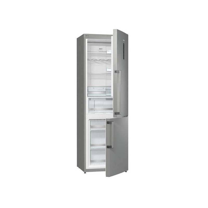 Chladnička s mrazničkou Gorenje Superior NRK6192TX nerez