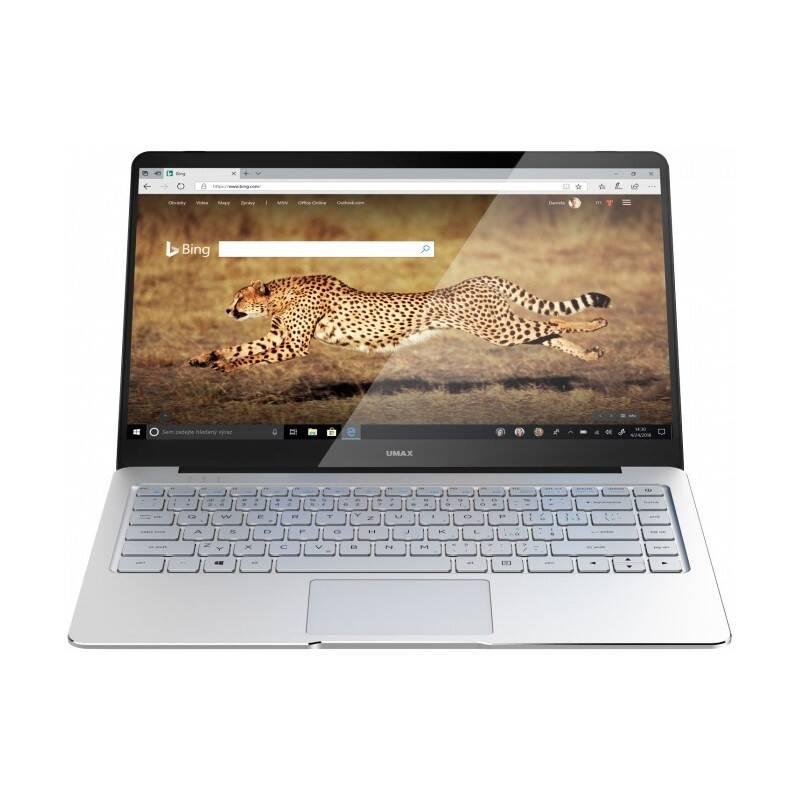 Notebook Umax VisionBook 14Wg Pro (UMM23014M) stříbrný/béžový