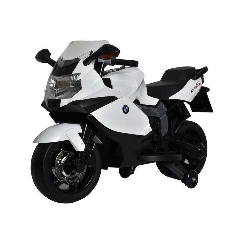 Elektrická motorka Buddy Toys BEC 6010 BMW K1300 čierna/biela + Doprava zadarmo