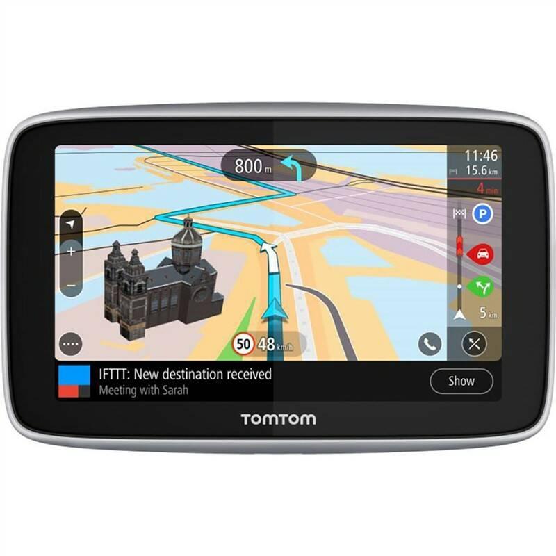 Navigační systém GPS Tomtom GO PREMIUM 6 World Lifetime (1PL6.002.30) černá