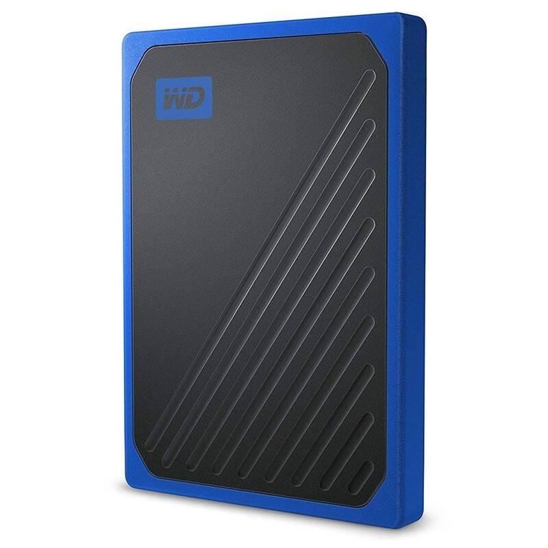 SSD externý Western Digital My Passport Go 500GB (WDBMCG5000ABT-WESN) modrý