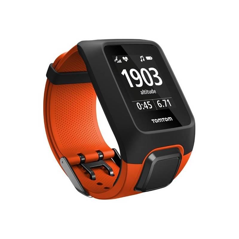 GPS hodinky Tomtom Adventurer Cardio + Music (1RKM.000.00) oranžové + Doprava zadarmo