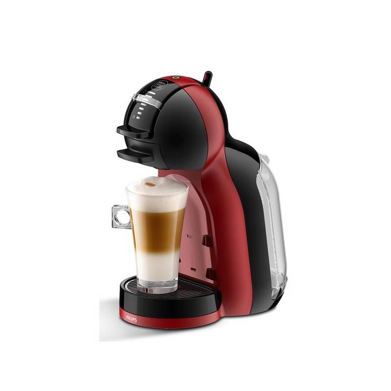 Espresso Krups NESCAFÉ Dolce Gusto Mini Me KP120H31 čierne/červené Kapsle NESCAFÉ LATTÉ MACCHIATTO (zdarma) 16 ks k Dolce Gusto