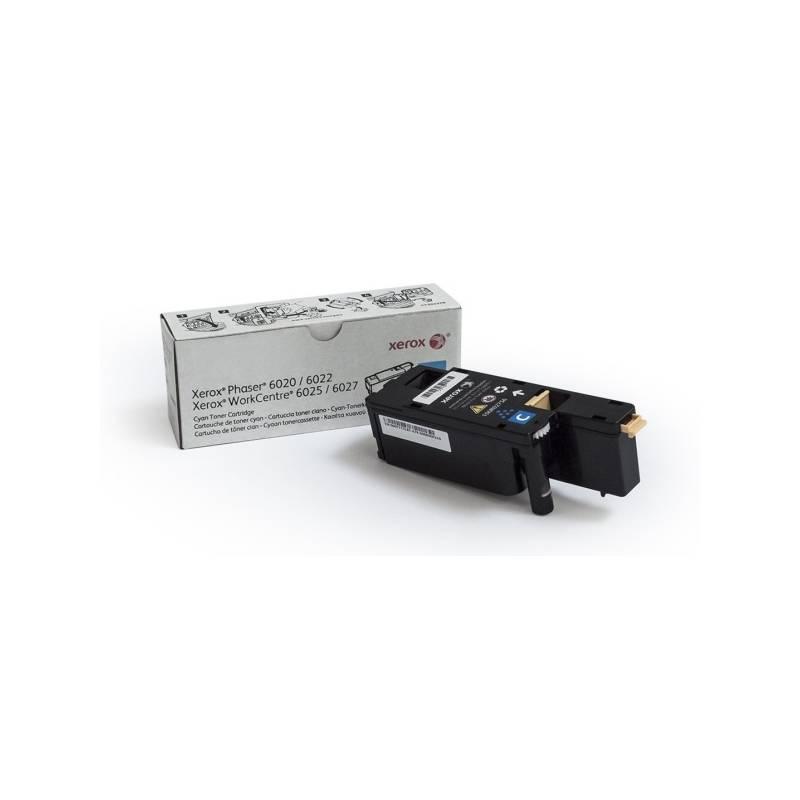 Toner Xerox 106R02761 pro tiskárny Phaser 6020/6022, WorkCentre 6025/6027 1000 str.- cyan (106R02760)