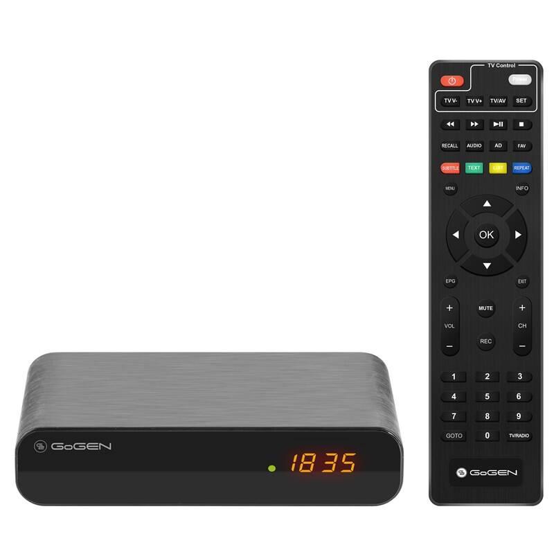 Set-top box GoGEN DVB 142 T2 PVR čierny