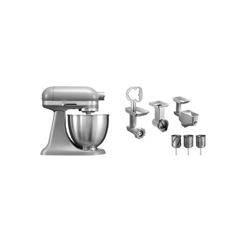 Set KitchenAid - kuchyňský robot 5KSM3311XEFG + FPPC balíček s příslušenstvím + Doprava zadarmo