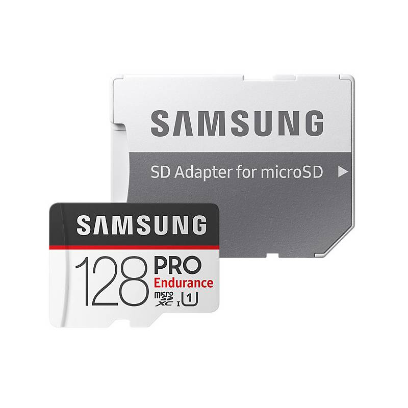 Pamäťová karta Samsung Micro SDXC PRO endurance 128GB UHS-I U1 (100R/30W) + adapter (MB-MJ128GA/EU)