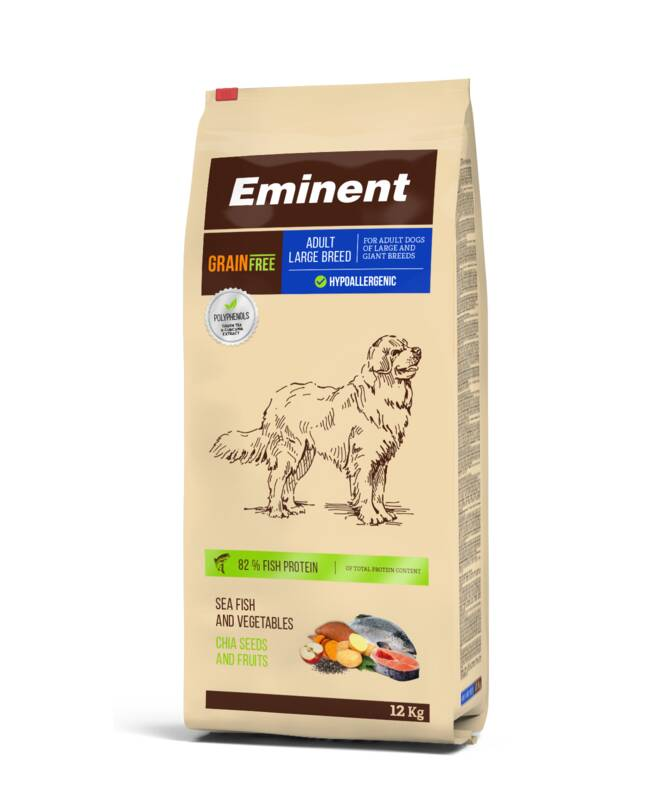 Granuly Eminent Grain Free Adult Large Breed 27/14 12kg