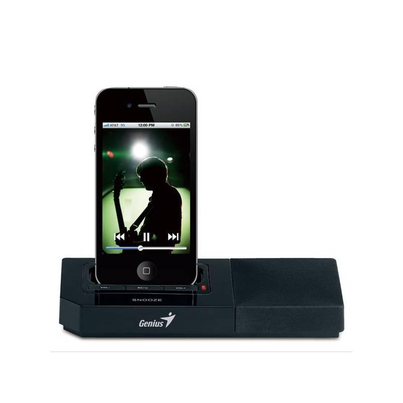 Dokovacia reproduktor Genius SP-i500 pro iPhone/iPod (31730028101) čierna