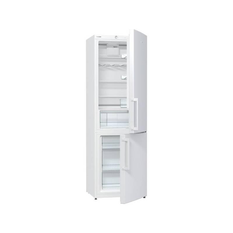 Kombinácia chladničky s mrazničkou Gorenje Essential RK 6192 BW biela + Doprava zadarmo