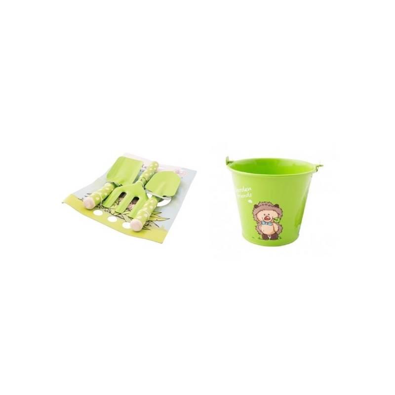 Set výrobkov M.A.T. pro malé zahradníky zelený