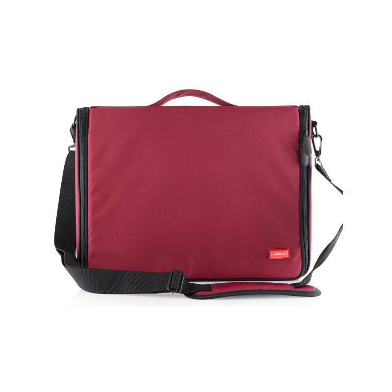 """Brašna na notebook Modecom TORINO 15,6"""" (TOR-MC-TORINO-15-RED) červená"""