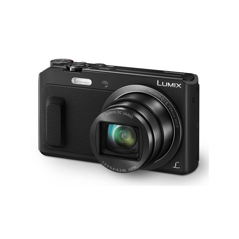 Digitálny fotoaparát Panasonic Lumix DMC-TZ57EP-K čierny