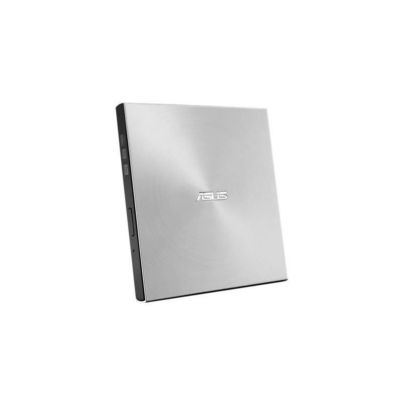 Externí DVD vypalovačka Asus SDRW-08U7M-U slim (90DD01X2-M29000) stříbrná