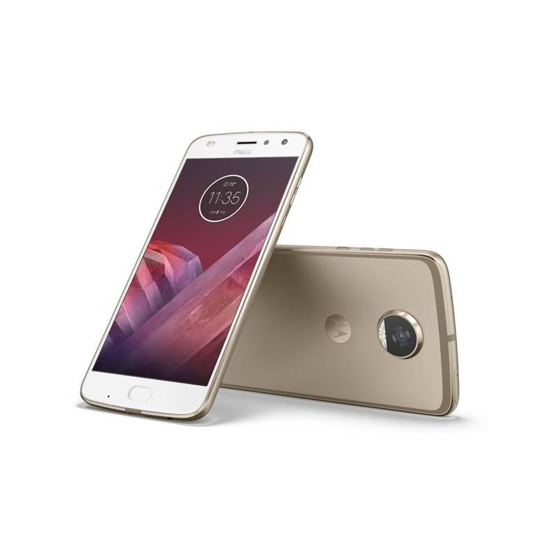 Mobilní telefon Motorola Z2 Play, zlatá (443631)