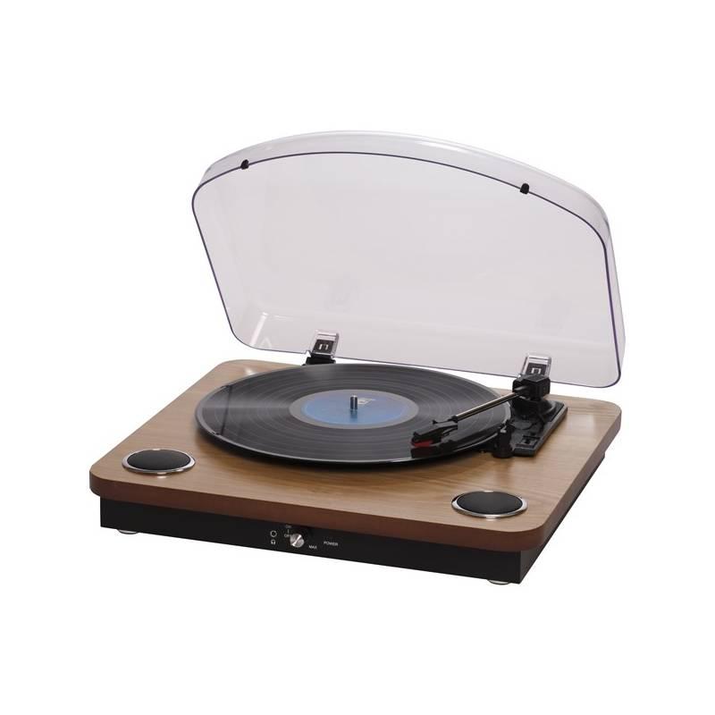 Gramofón Denver VPL-200W drevený