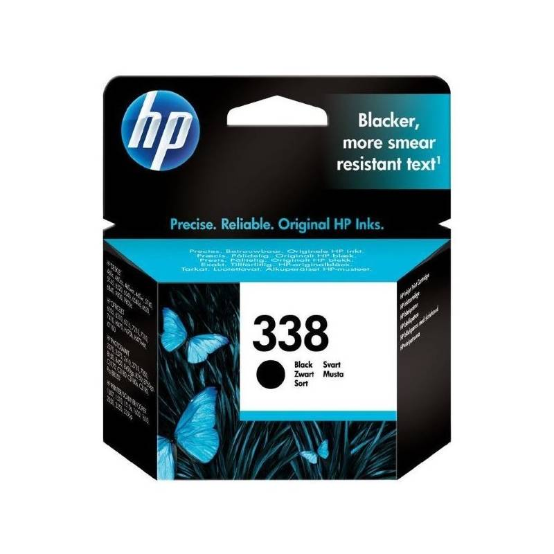 Cartridge HP No. 338, 11ml, 450 stran - originální (C8765EE) čierna