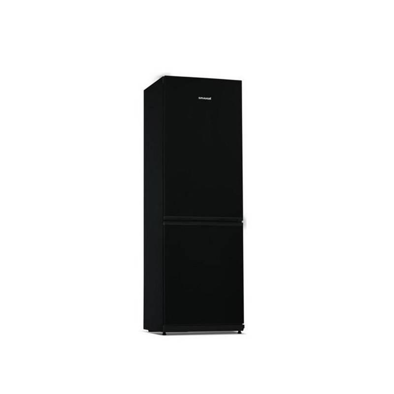Kombinácia chladničky s mrazničkou Snaige Ice Logic RF34SM S1JJ21 čierna