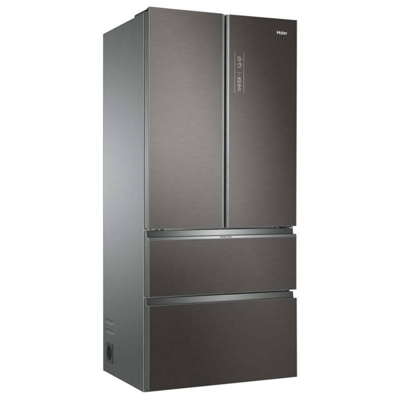 Kombinácia chladničky s mrazničkou Haier HB18FGSAAA nerez + Doprava zadarmo