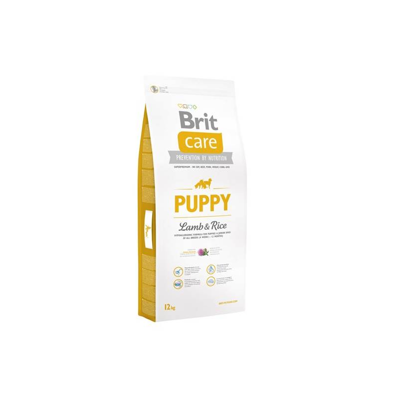 Granuly Brit Care Puppy Lamb & Rice 12 kg
