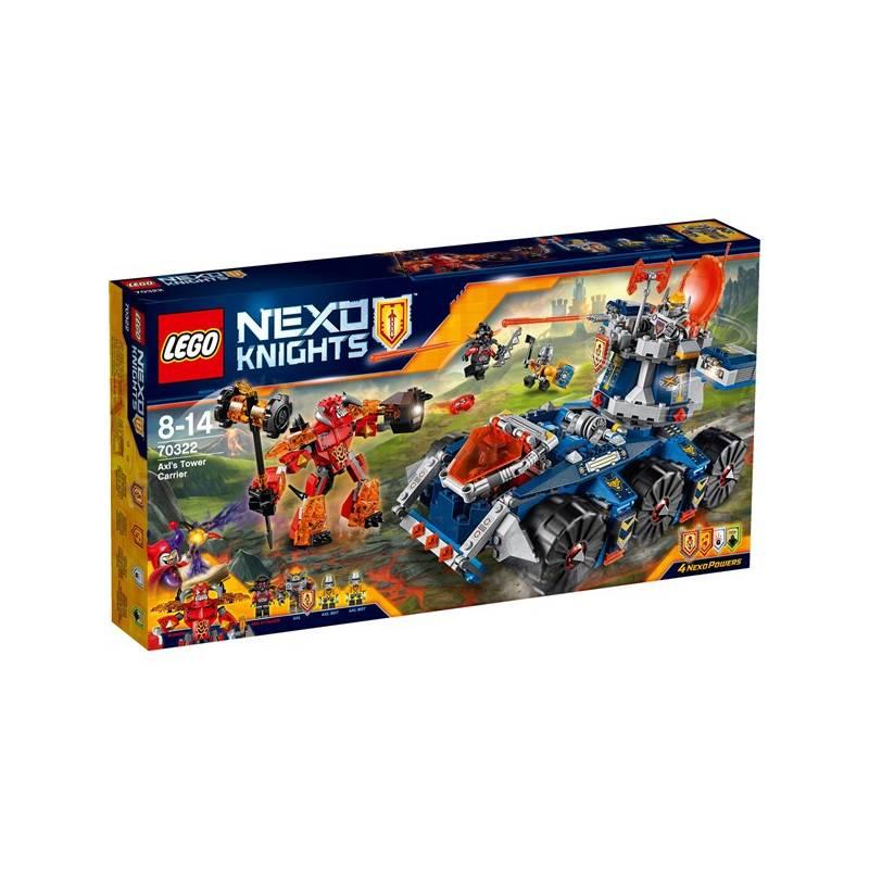 Stavebnica LEGO® NEXO KNIGHTS™ 70322 Axlův věžový transportér + Doprava zadarmo