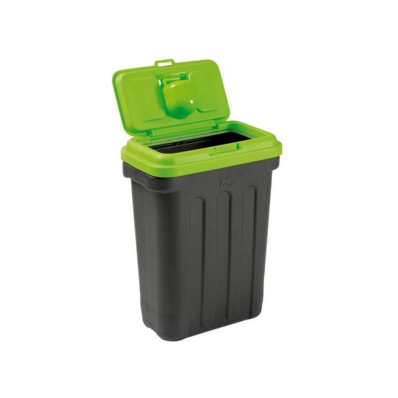 Box na krmivo Maelson Dry Box 15 kontejner na suché krmivo 15 kg čierne/zelené