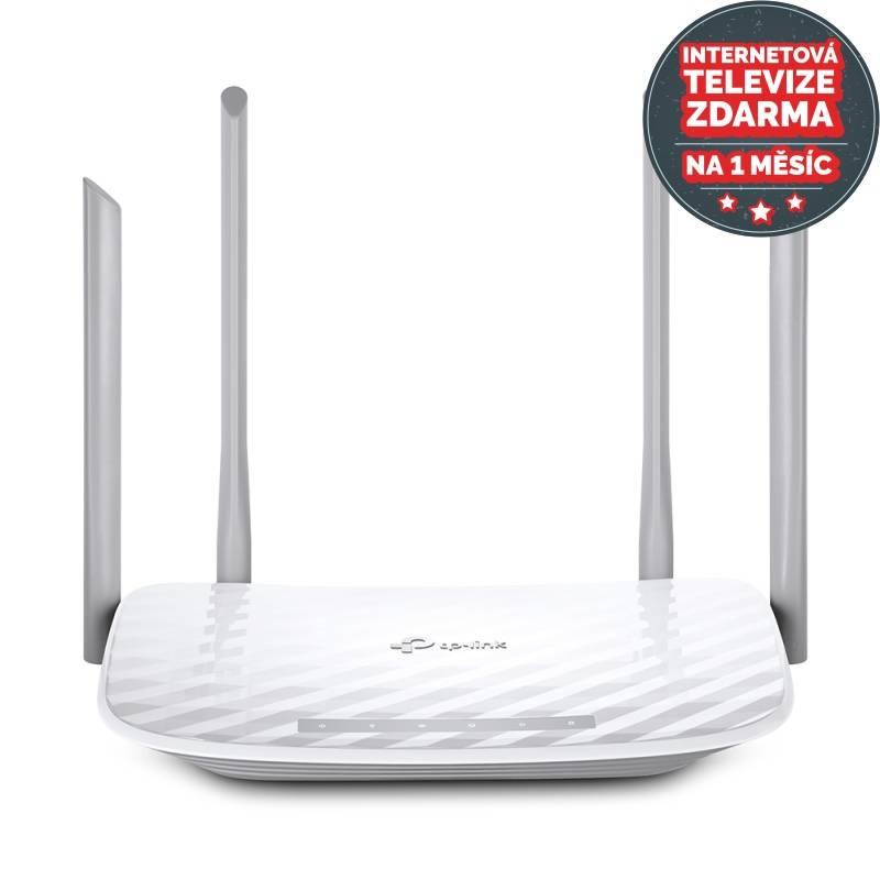 Router TP-Link Archer C5 V4 AC1200 + IP TV na 1 měsíc ZDARMA (Archer C5 V4)