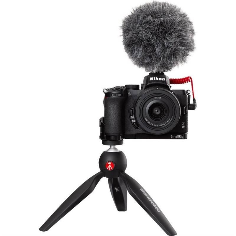 Digitálny fotoaparát Nikon Z50 + 16-50 VR Vlogger Kit (VOA050K010) čierny + Doprava zadarmo